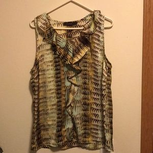 Multi-Colored tank top blouse